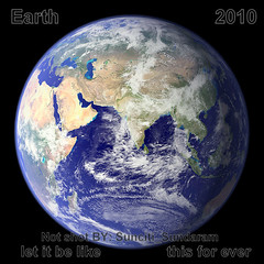 Do Not Rattle Dear Mother Earth...We Will Not Kick You Any More...Let Us  Have Peace.And Promise..No Quake.No..Tsunami... photo by Sunciti _ Sundaram's Images + Messages