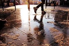 slushy reflections photo by MrLomo