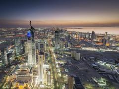 Kuwait City Sunset photo by © Saleh AlRashaid / www.Salehphotography.net