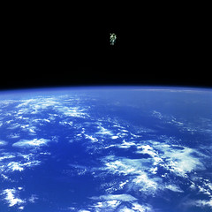 Free Flying photo by NASA Goddard Photo and Video