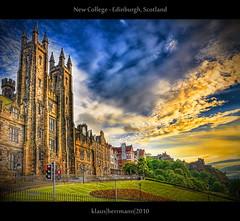 New College - Edinburgh, Scotland (HDR) photo by farbspiel
