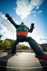 Tetsujin 28 in Kobe photo by sharkhats