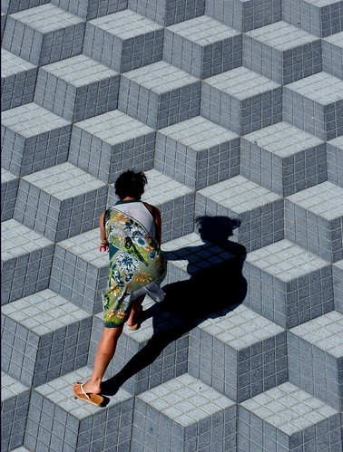 """…illusion cubiste…"" pour A. R. L. # EXPLORE (**i) photo by Brian Wayfarer"