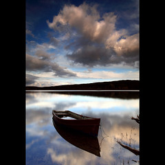 Boat - Kennard Loch photo by angus clyne