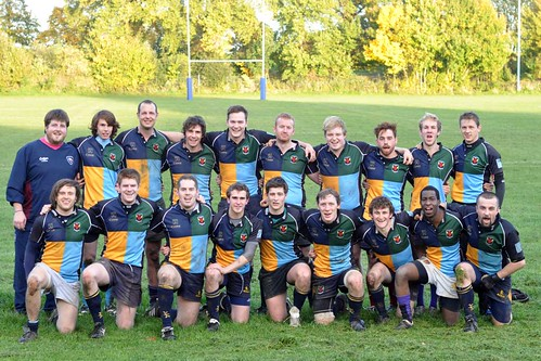 The Griffins (1st XV) vs. Old Priorians October 2010