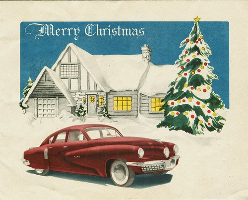 Tucker Corporation Christmas Card, 1947
