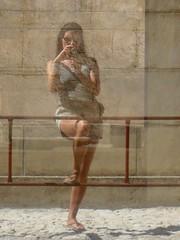 Self-portrait photo by bazylek100