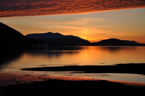 Sunset in Sykkylven, Norway photo by Martin Ystenes - http://hei.cc