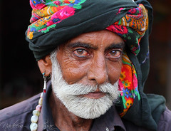 A face from Sindh. photo by Nadeem Khawar.