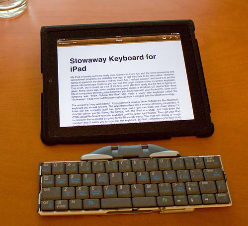 Stowaway Keyboard