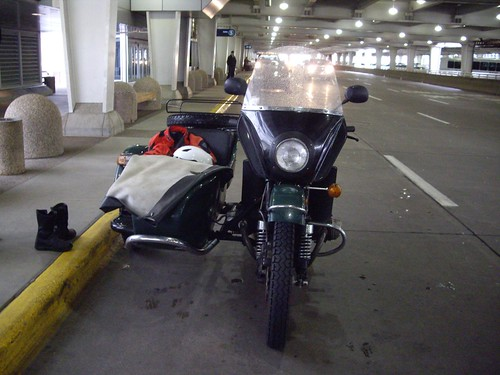 Ural at the Airport
