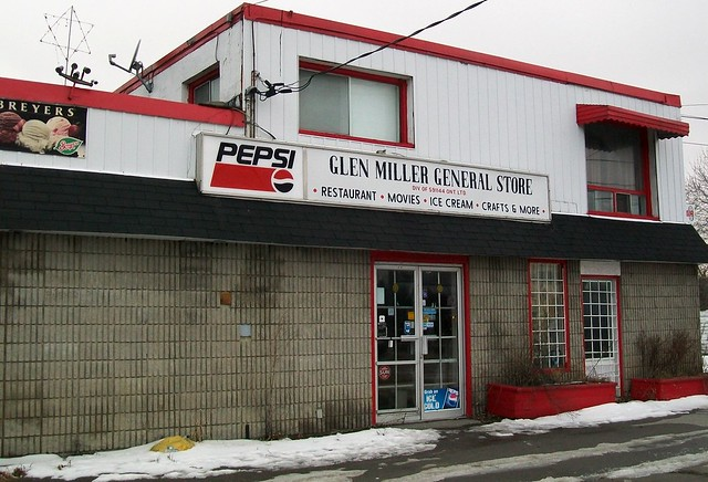 not open glen miller general store now closed at one time it also ...