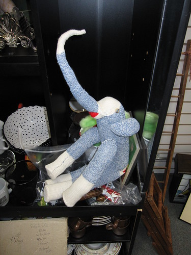sock monkey cousin