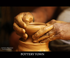 Creative Hands | Pottery Town[Made it to BWS Home Page] photo by get2shaan