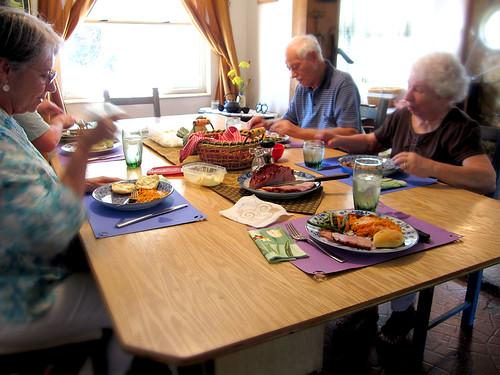 Easter Dinner 2010