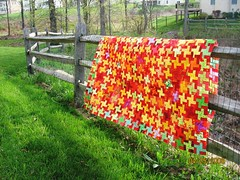 Red and Yellow Quilt photo by Rangoli45
