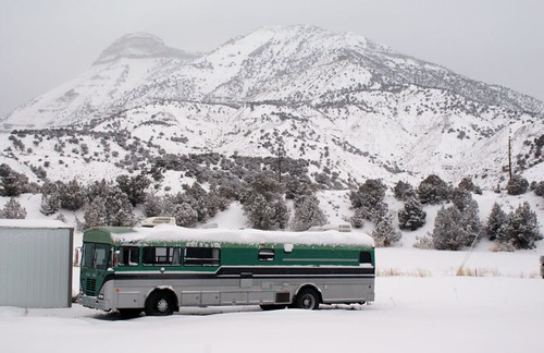 Bus in Colorado