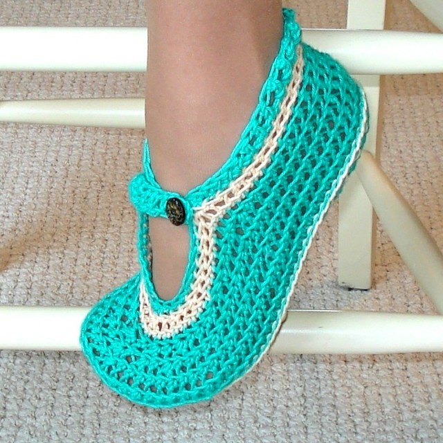 How To Crochet Slippers - Easy To Make Crochet Slippers - Patterns