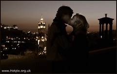 365-261 The Lovers, Carlton Hill, Edinburgh, Scotland at Dusk photo by Hotpix [LRPS] Hanx for 1.5M Views