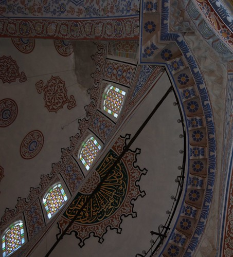 Blue Mosque - From Pillar to Dome
