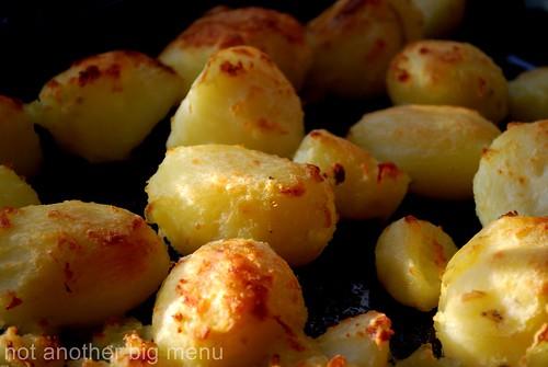 Christmas meal - roast potatoes