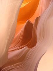 Dans l'antre d'Antelope Canyon par Franck Vervial photo by Franck Vervial