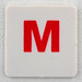 hangman tile red letter M