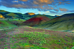 Natural Elements, The Painted Hills, Oregon photo by Northern Straits Photo