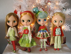 Blythe  Christmas photo by merwing✿little dear