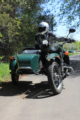 ural turning right