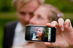 Bridal Couple Self-Portrait photo by Lars Kehrel