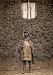 Kid of Batwa tribe, Rwanda photo by Eric Lafforgue