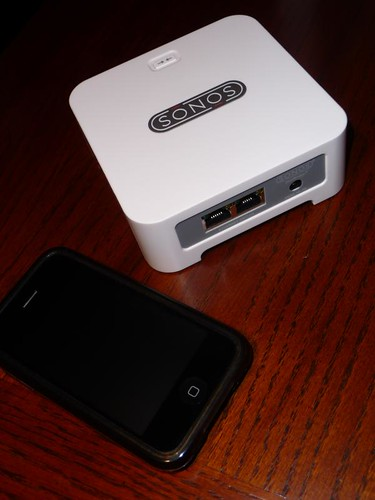 Sonos Soundbridge with iPod Touch
