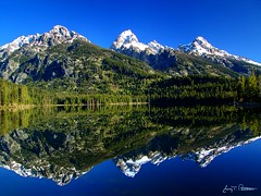 Reflective Teton Beauty photo by Jerry T Patterson