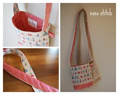 shoulder bag for girl- wizard of oz photo by coco stitch