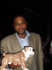 Frank with Anthony Anderson