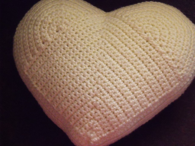 Crochet Hearts and Shamrock Decorator Pillow Pattern
