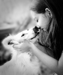 A girl and her dog 6/52 photo by songbird who sings