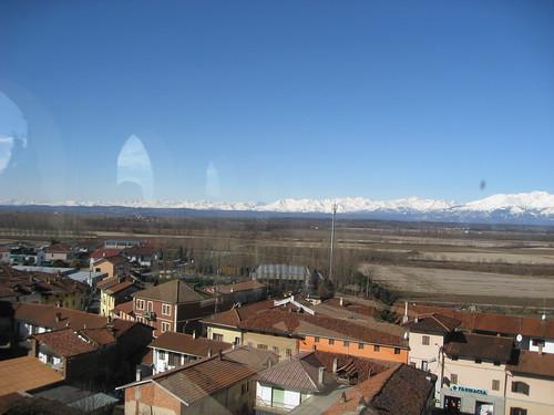 Panoramica dal castello