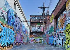 Graffiti Alley #2 photo by noblerzen