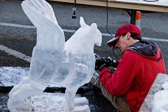 Holland Ice Sculpting Competition 2010