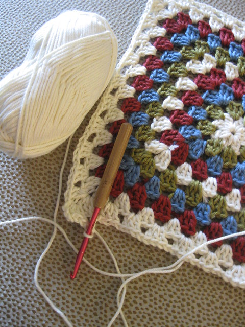 "Crochet Pattern Central - Free 7"" Afghan Square Crochet Pattern"