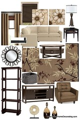 Madison Living Room Design photo by Online Home Decorating