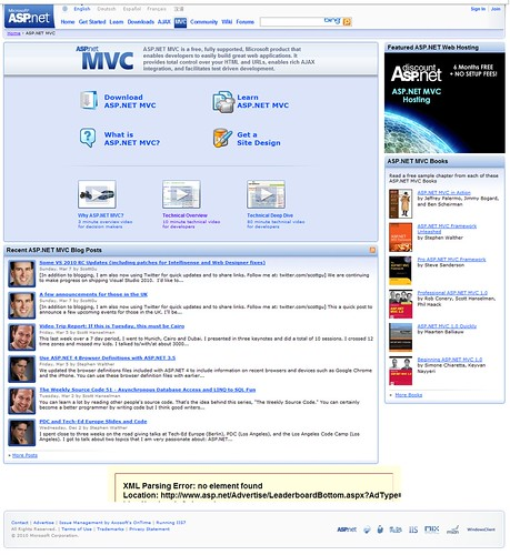 ASP.NET MVC - Old