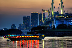 Odaiba Bridge photo by Sprengben [why not get a friend]