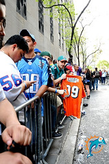 Dolfans NYC At The 75th NFL Draft