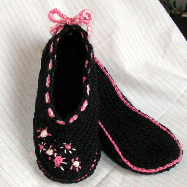 Crochet Slippers Instructions | eHow.co.uk