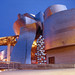 Guggenheim Museum Bilbao, Spain - Blue Hour Architecture