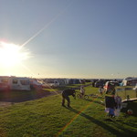 Sunshine on the campsite<br/>10 Aug 2010