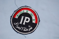 Iraqi Police patch photo by Funkywingnut